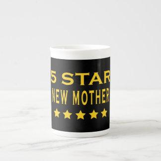 Funny Cool Gifts : Five Star New Mother Bone China Mug