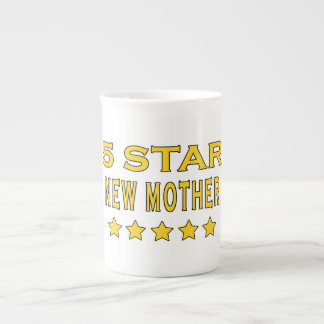 Funny Cool Gifts : Five Star New Mother Porcelain Mugs