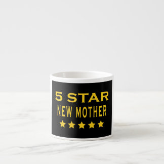 Funny Cool Gifts : Five Star New Mother Espresso Cups