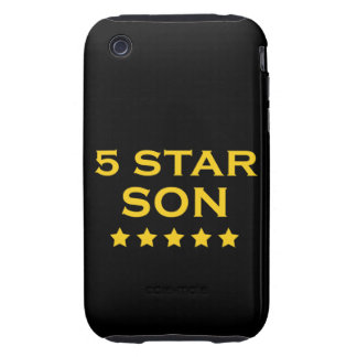 Funny Cool Gifts : Five Star Son iPhone 3 Tough Cases