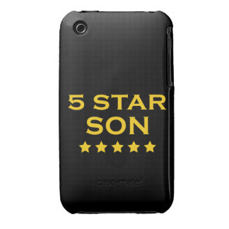 Funny Cool Gifts : Five Star Son iPhone 3 Case-Mate Cases