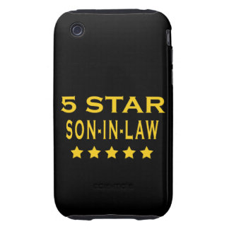 Funny Cool Gifts : Five Star Son in Law Tough iPhone 3 Cases