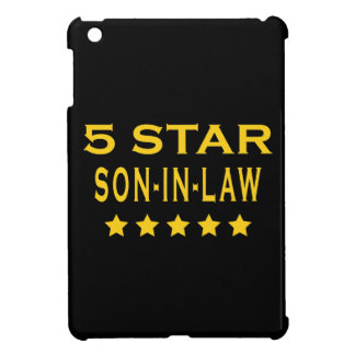 Funny Cool Gifts : Five Star Son in Law iPad Mini Case