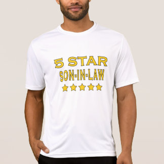 Funny Cool Gifts : Five Star Son in Law T-Shirt