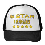 Funny Cool Grandfathers : Five Star Grandfather Trucker Hat