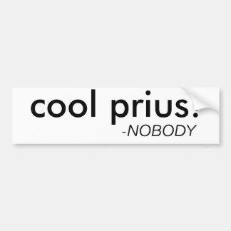"""Funny """"Cool Prius"""" Bumper Sticker"""