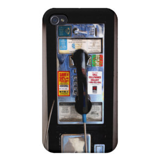 Funny Cool Public Pay Phone iPhone 4 Speck Case