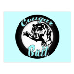 Funny Cool Retro Cougar Bait Geeky Post Cards