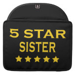 Funny Cool Sisters : Five Star Sister MacBook Pro Sleeve
