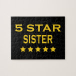 Funny Cool Sisters : Five Star Sister Puzzles