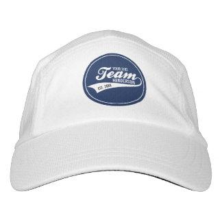 Funny Cool Sports Team Logo Your Custom Team Name Headsweats Hat