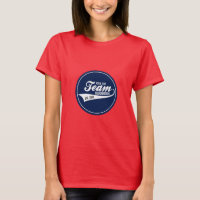 Funny Cool Sports Team Logo Your Custom Team Name T-Shirt