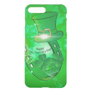 Funny, cool St. Patrick's Day hat iPhone 8 Plus/7 Plus Case