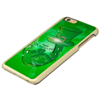 Funny, cool St. Patrick's Day hat Incipio Feather® Shine iPhone 6 Plus Case