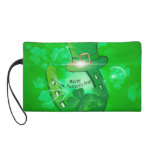 Funny, cool St. Patrick's Day hat Wristlets