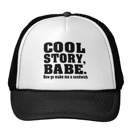 cool story trucker hats zazzle