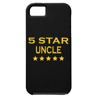 Funny Cool Uncles Five Star Uncle iPhone 5 Cover