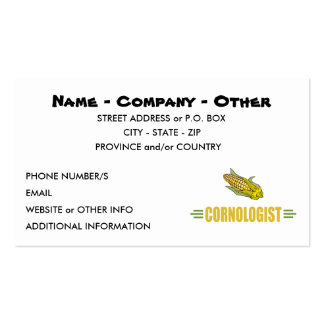 Funny Corn Business Card