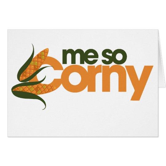 Funny Corn Card