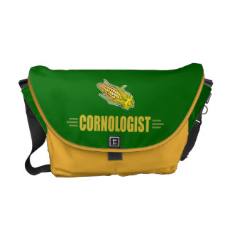 Funny Corn Courier Bag
