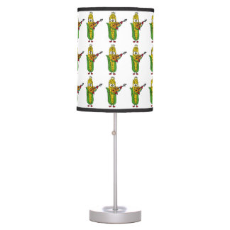 Funny Corn Playing Fiddle Lamp