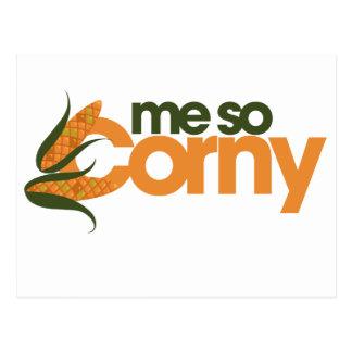 Funny Corn Postcard
