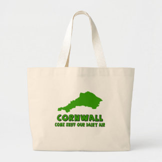 Funny Cornwall Tote Bags