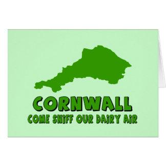 Funny Cornwall Greeting Card