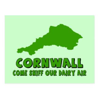 Funny Cornwall Postcard