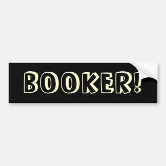 Funny  Cory Booker Bumper Sticker