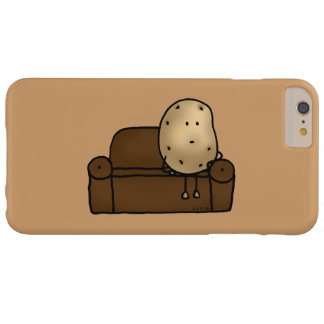 Funny couch potato barely there iPhone 6 plus case