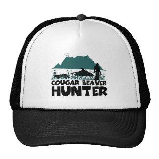 Funny cougar cap