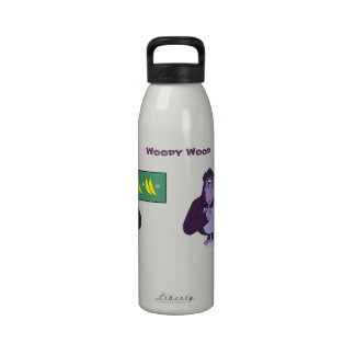 Funny Counting Gorilla Math Custom Drinking Bottle