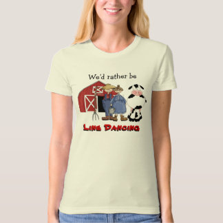 Funny Country Line Dancing Farmers shirt