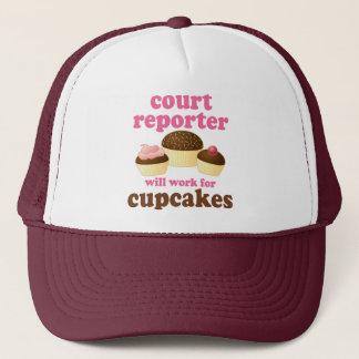 Funny Court Reporter Trucker Hat