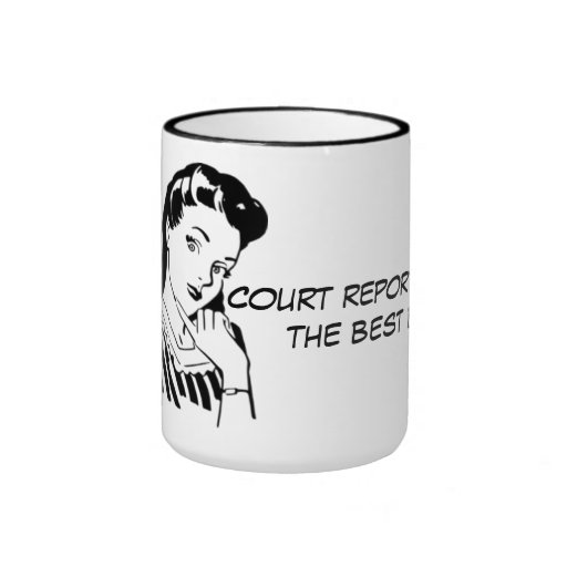 """Funny Court Reporters """"Have the Best Briefs"""" Cup Mugs"""