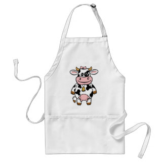 Funny Cow Adult Apron