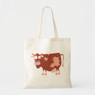 Funny Cow Budget Tote Bag