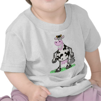 "funny cow ""carton"" baby's t-shirt"