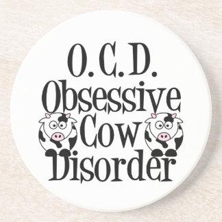 Funny Cow Beverage Coasters