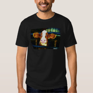 Funny Cow Face Tshirts