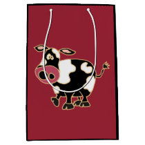 Funny Cow Gift Bag
