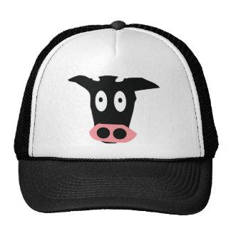 funny cow trucker hat