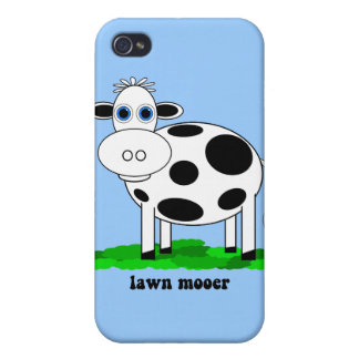 funny cow iPhone 4/4S cover
