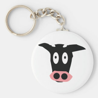 funny cow key chains