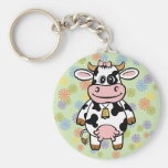 Funny Cow Keychains