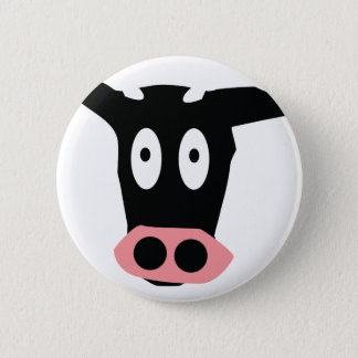 funny cow pinback button