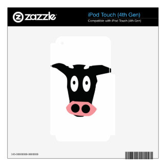 funny cow decal for iPod touch 4G