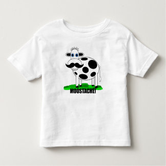 funny cow toddler t-shirt