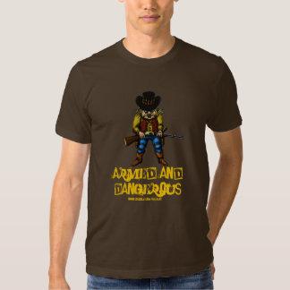 Funny cowboy t-shirt design